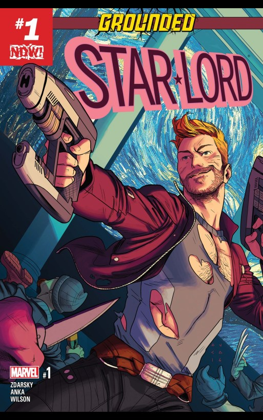 Starlord grounded marvel cover