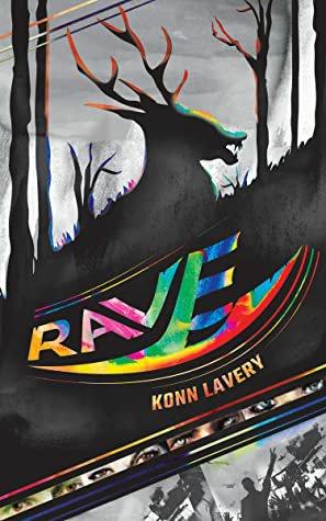 rave, konn lavery, book cover