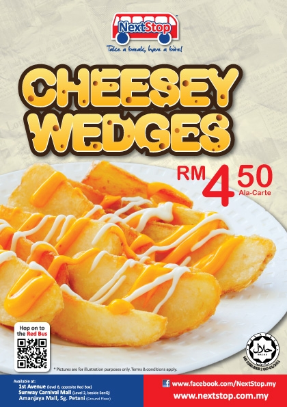 NS Cheesey-Wedges