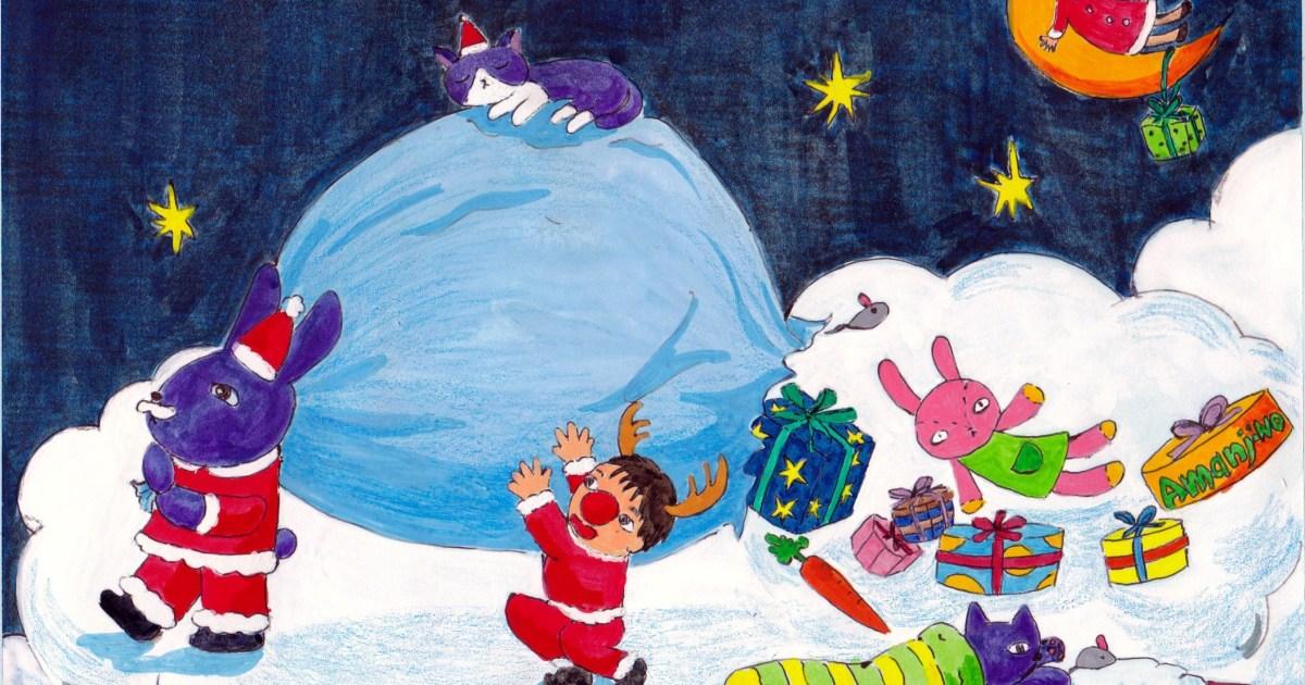 クリスマスカード,豪徳寺