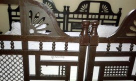 Large bed (almost 2 king size double beds) R.No. 109