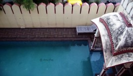 Swimming pool on the ground floor