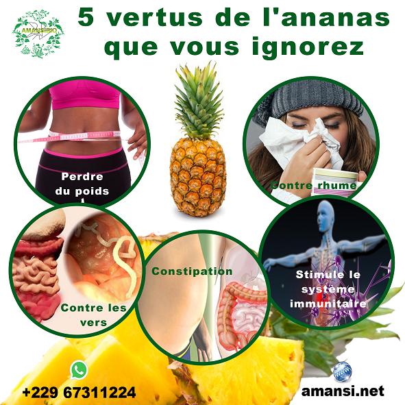 5 vertus de l'ananas que vous ignorez