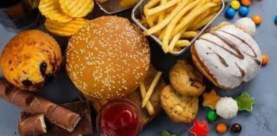 Supprimer les aliments gras et sucrés