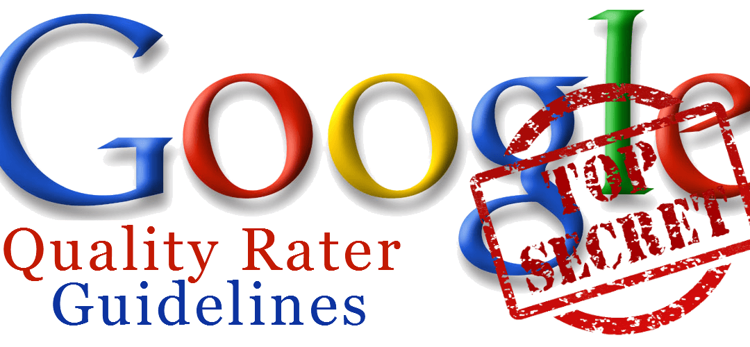 Google Search Quality Ratings Guidelines 2017