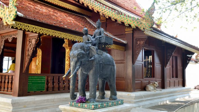 Wat doi suthep au Nord de Chiang Mai, 306 marches à gravir