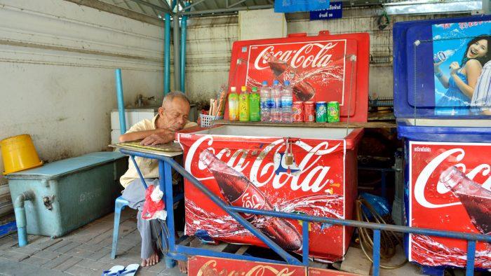 Je ne sais pas pourquoi, mais les Thaïlandais siestent absolument partout ! Tranquillou !