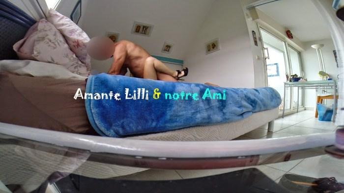 Amante Lilli, amant sud-africain, hotwife, coquine, amatrice, libertine, cochonne,