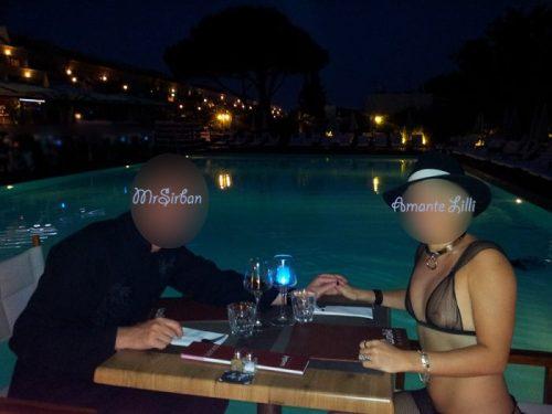 Au restaurant du Waiki Beach en bord de piscine avec MrSirban