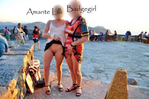 Exhib aux Tables Mountain, en Afrique du Sud, à Cape Town, avec mon amie Badgegirl