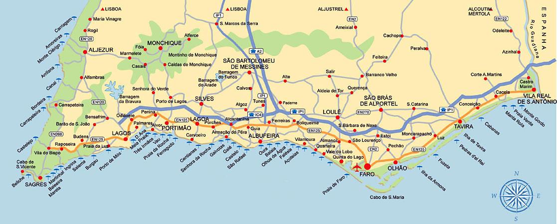 Praias Do Algarve Amantes De Viagens