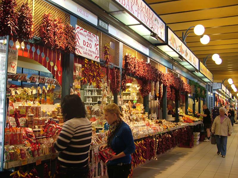 Central Market Hall- Nagy Vasarcsarnok