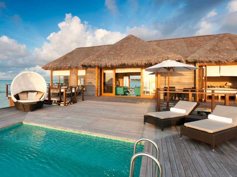 20 hot is para sonhar amantes de viagens for Conrad maldives rangali island resort islas maldivas