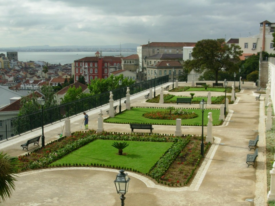 Miradouro e jardim de S.Pedro de Alcântara