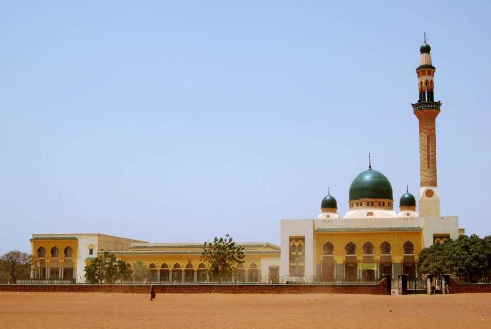 A Grande Mesquita de Niamey