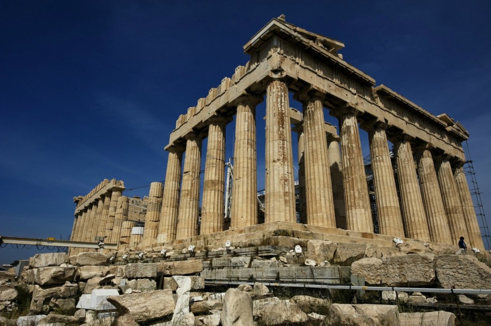 Acrópole - Atenas- Grécia