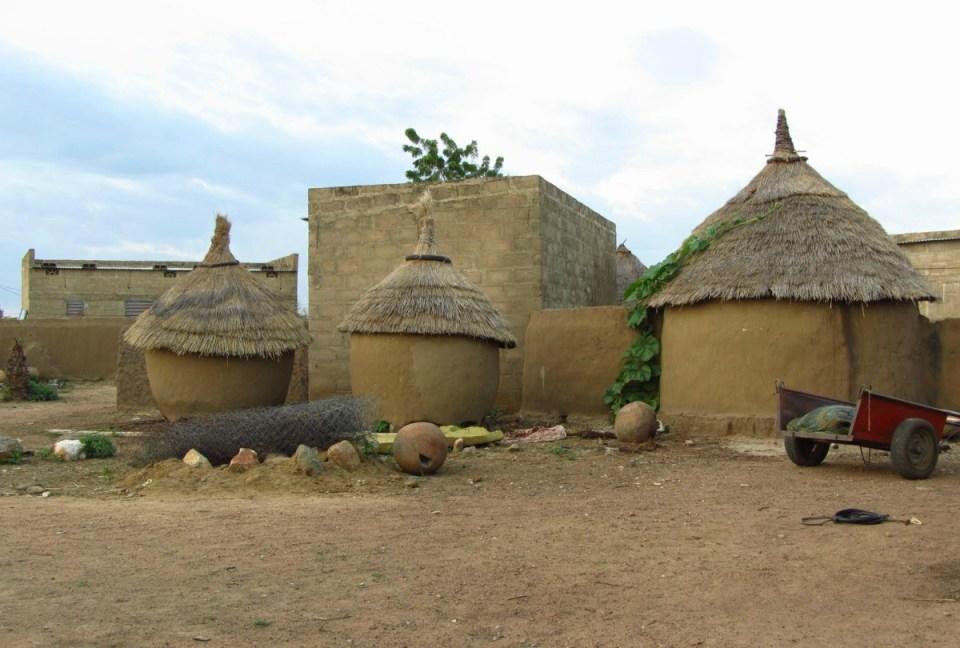 Aldeia no Burkina Faso