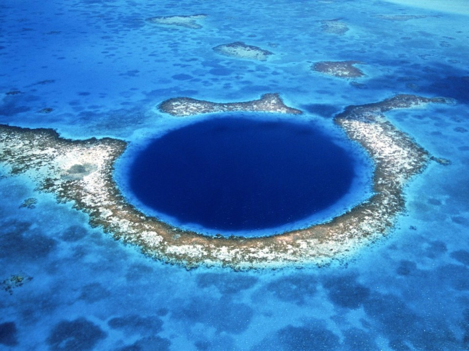 Blue Hole - Belize