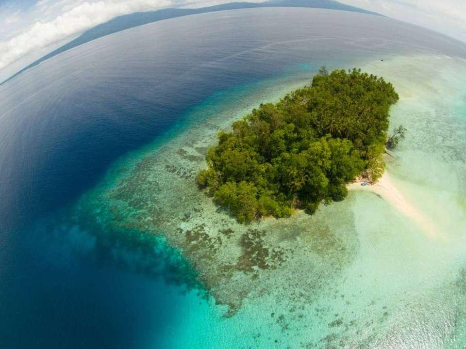 Ilhas Salomão - Vista Aérea