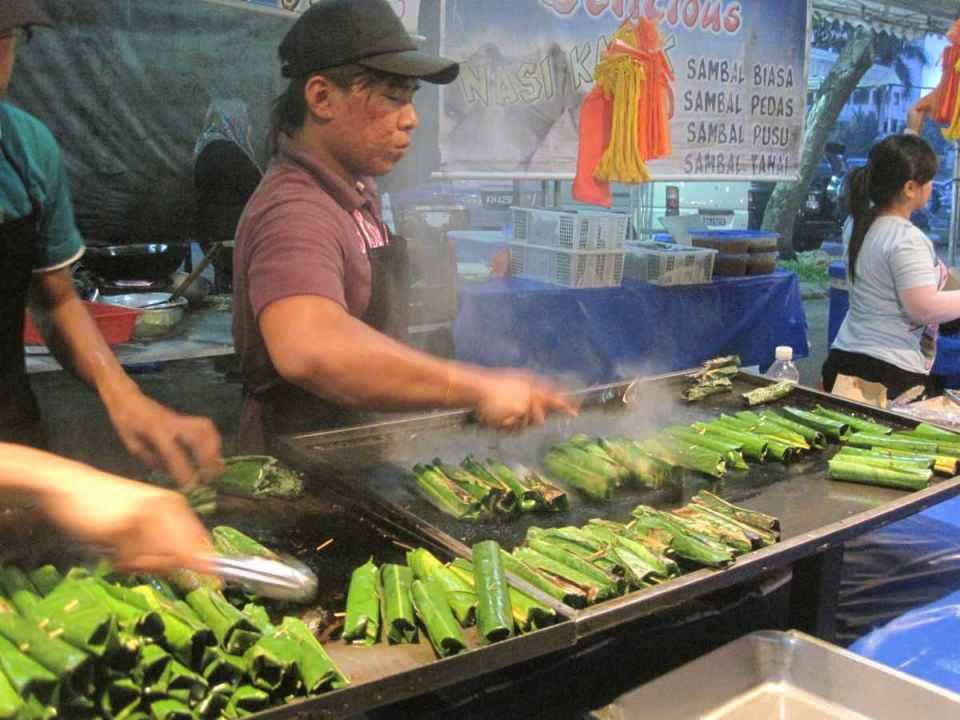 Mercado em Brunei