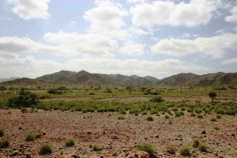 Paisagens do Djibouti