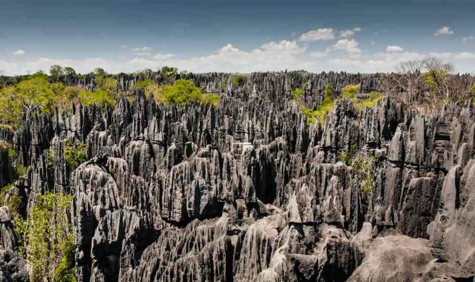Parque natural Tsingy de Bemaraha