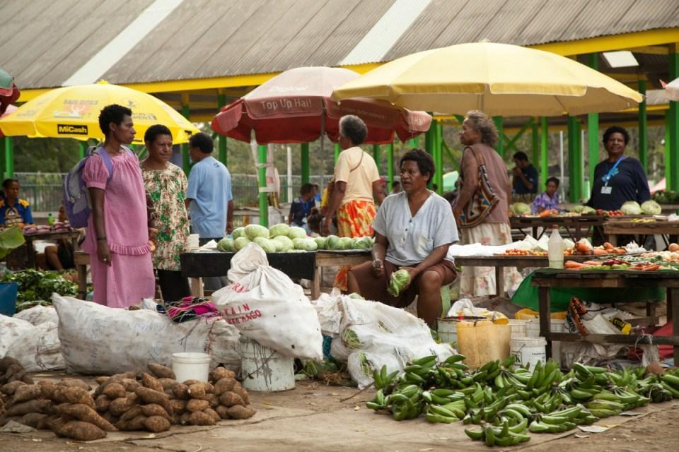 Mercado de Port Moresby