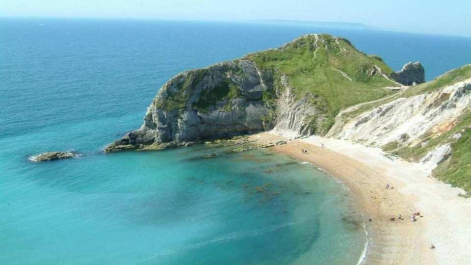Praia em Chipre