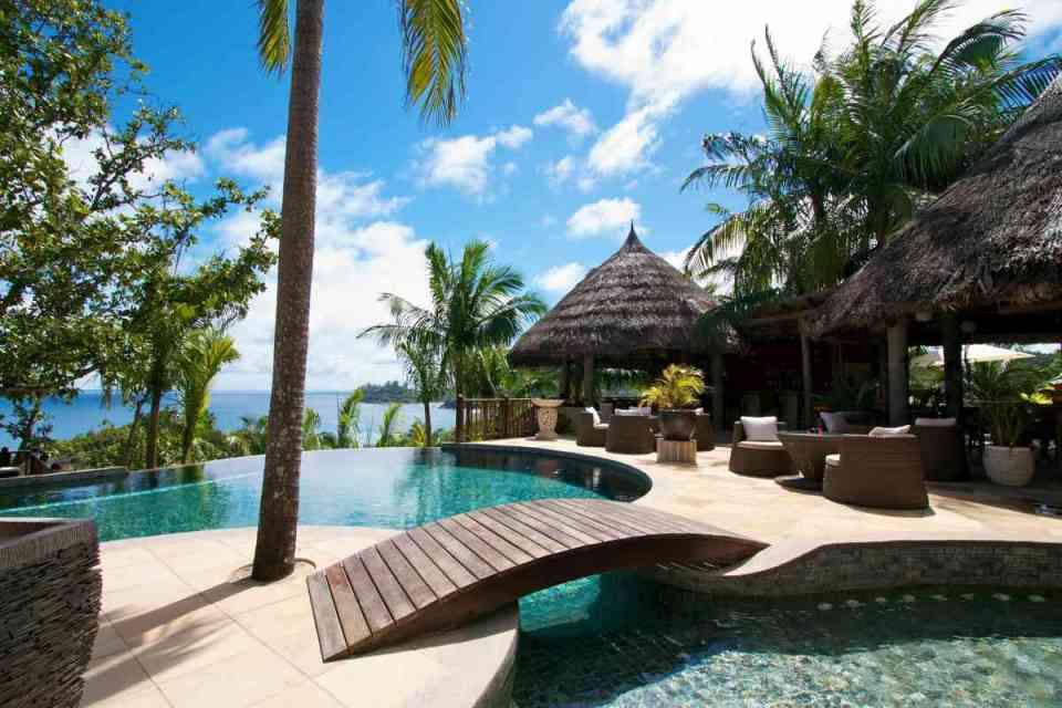 Resort nas Seychelles