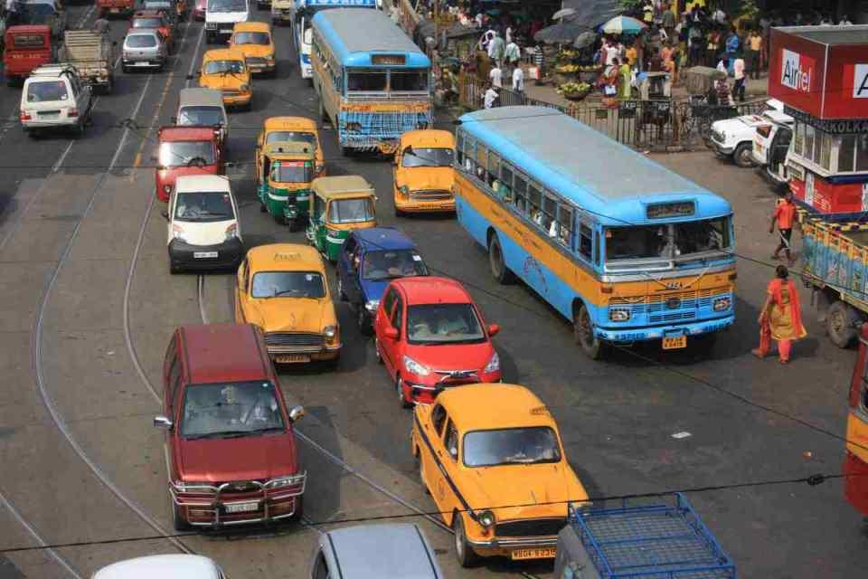 Trânsito em Daca