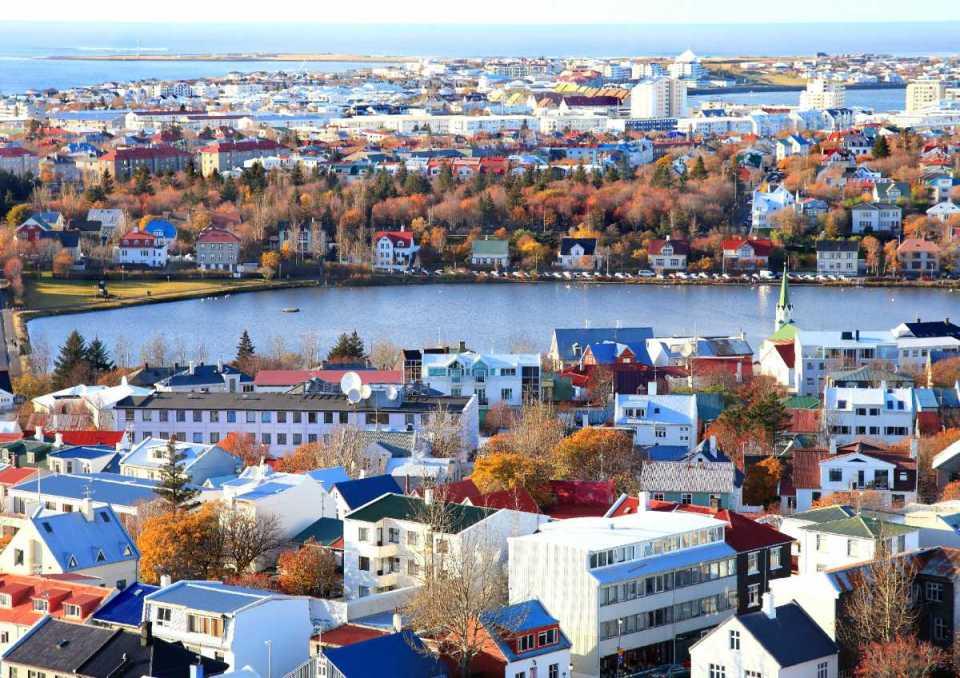 Vista aérea de Reiquejavique