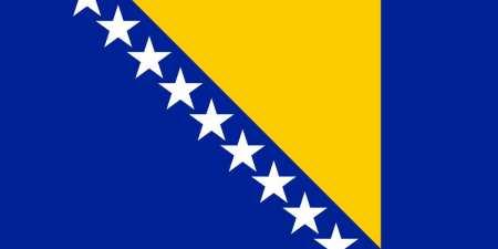 Bandeira da Bósnia e Herzegovina