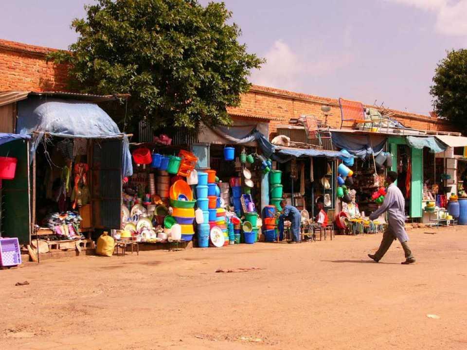 Mercado em Asmara
