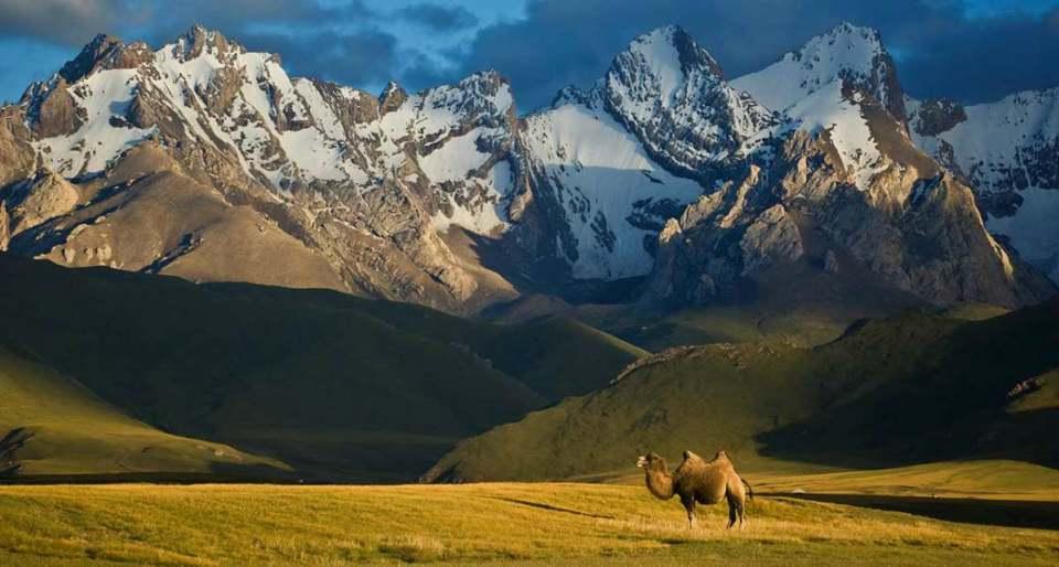 Montanhas do Quirguistão