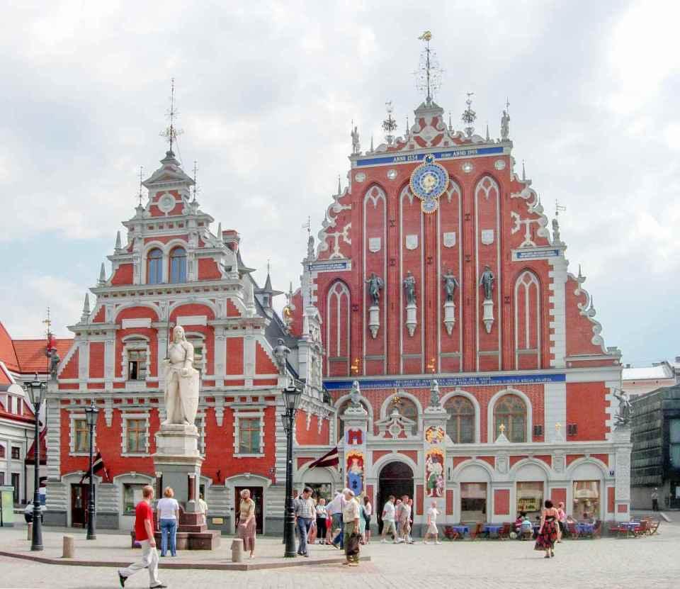 Parte antiga de Riga