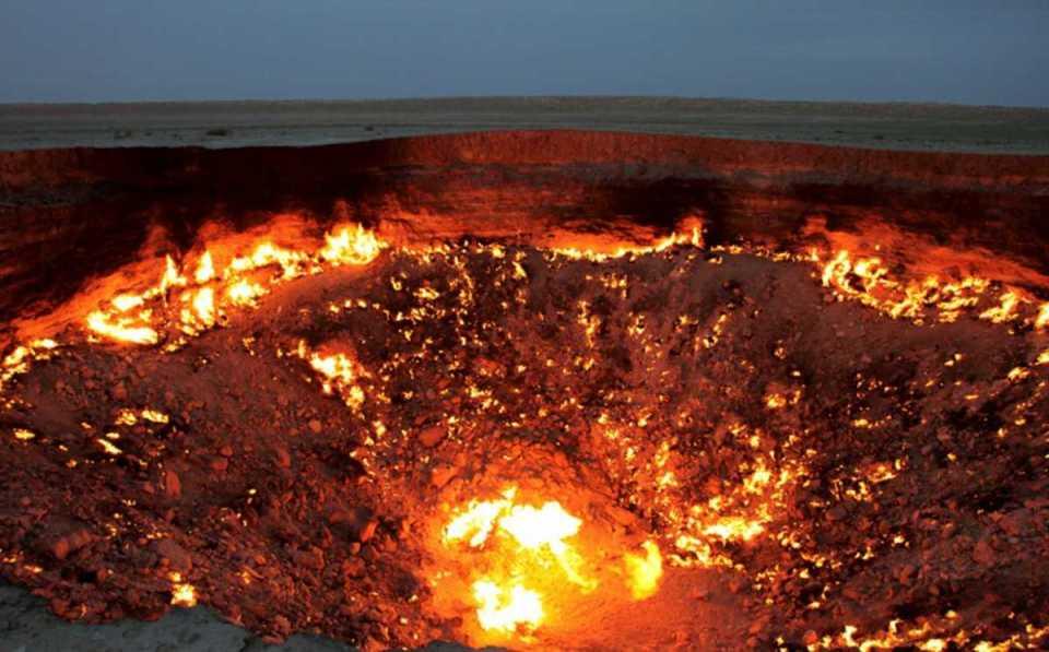 Porta do Inferno - Deserto de Karakum