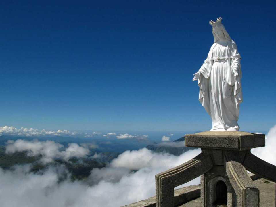 Topo do monte Ramelau
