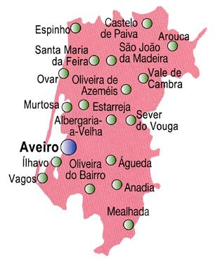 Distrito de Aveiro- Rota da Luz- Portugal