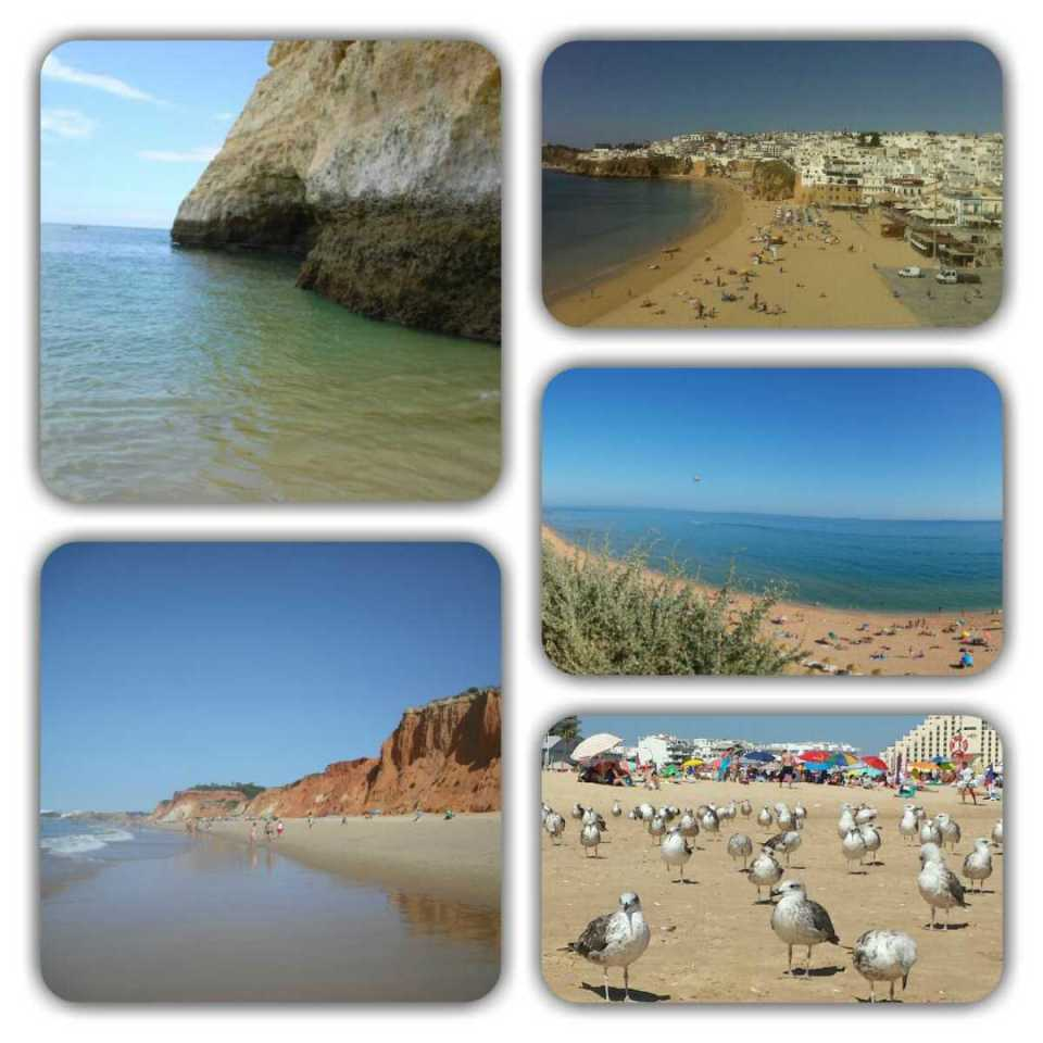 Portugal-Praias do Algarve
