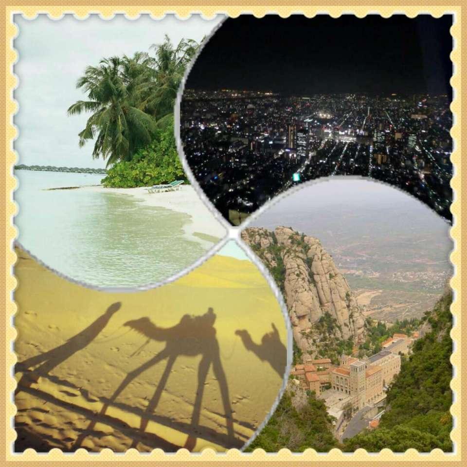 Praia+cidade+deserto+montanha