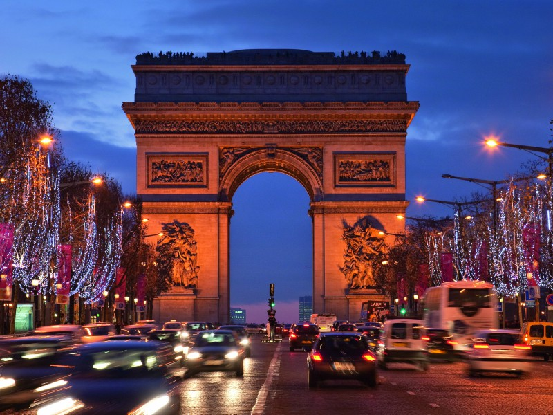 Arco do Triunfo- Paris