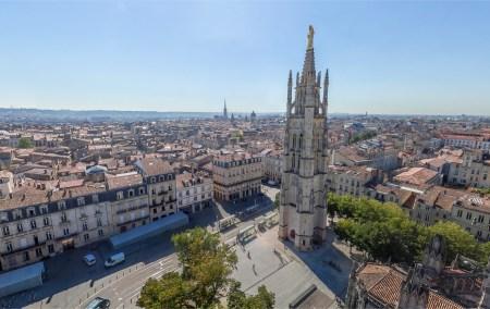 Bordéus- França- Vista aérea da praça central