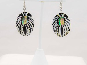 Handmade-Mexican-Abalone-shell-shakira-beads-Earrings-002