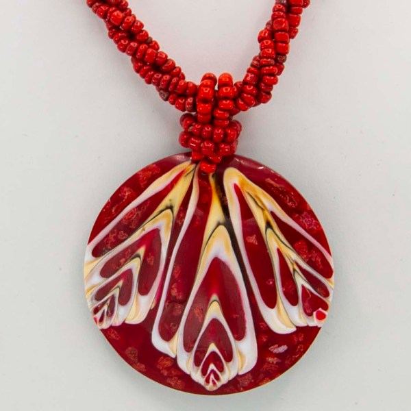 Handmade-Mexican-shell-shakira-beads-Necklace-005-detail