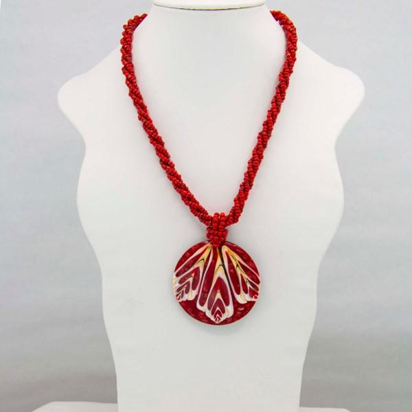 Handmade-Mexican-shell-shakira-beads-Necklace-005