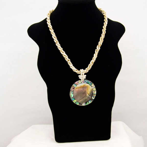Handmade-Mexican-Abalone-shell-shakira-beads-Necklace-011