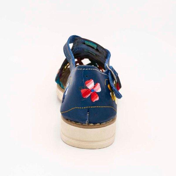 amantli-handmade-mexican-huarache-sandal-shoe-low-sole-carmen-blue-heel-view-092