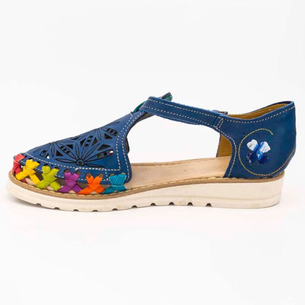 amantli-handmade-mexican-huarache-sandal-shoe-low-sole-carmen-blue-inner-view-091