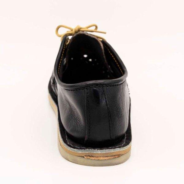mexican huarache sandal shoe jose heel view