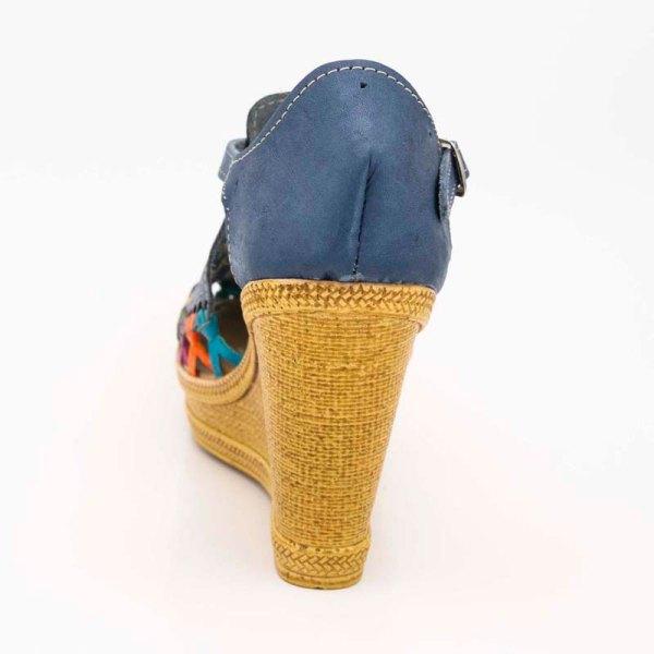 amantli-handmade-mexican-sandal-shoe-high-sole-camelia-blue-heel-view-010